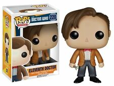 ELEVENTH DOCTOR MATT SMITH DR WHO BBC TV FUNKO POP FIGURE TOY COLLECTIBLE #220