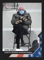 NEW - 2020 USA Election Topps Now Card # 21 BERNIE SANDERS - Biden Election Meme