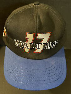 Vintage Chase Darrell Waltrip #17 Hat Cap Auto Racing  Nascar Winston Cup Blue