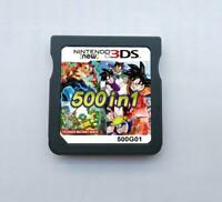 500 in 1 Game Cartridge Multicart For Nintendo DS NDS NDSL NDSi 2DS 3DS