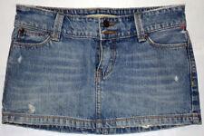Hollister Jean Skirt Size 0 100% Cotton