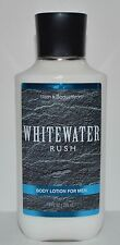 NEW BATH & BODY WORKS WHITEWATER RUSH FOR MEN BODY LOTION HAND CREAM LARGE 8 OZ