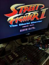 STREET FIGHTER 2 THE WORLD WARRIOR CPS1 ORIGINAL JAPAN ARCADE + A BOARD CAPCOM