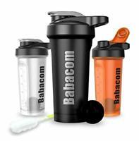 Shaker Protein Shaker Water Bottle with Blender Ball Cleaning Brush 28OZ / 700ML