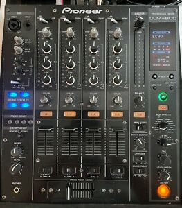 Pioneer DJM 800 Pro DJ Mixer 4 Channel With Effects