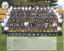2014 PITTSBURGH STEELERS NFL FOOTBALL TEAM 8X10 PHOTO PICTURE
