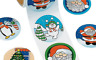 Loot Party Bag Fillers Pizza Stickers Roll of 100