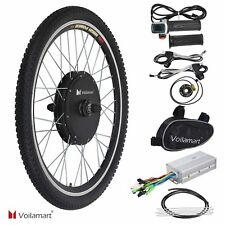 """26"""" Vorderrad 48V 1000W E Bike Conversion Kit Ebike Elektrofahrrad Umbausatz Kit"""