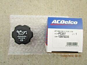GM GMC CHEVY PONTIAC 12573338 ACDELCO FC-207 ENGINE OIL FILLER FLUID CAP OEM NEW