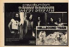 Savoy Brown Hellbound Train LP advert Time Out cutting 1972
