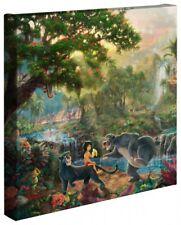 Thomas Kinkade Jungle Book 14 x 14 Wrapped Canvas Thomas Kinkade Wrap Disney