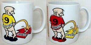 Wee On Oxford Swindon Tea Coffee Mug Football  Shirt Fan Town United Rivalry