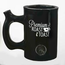 Premium black  Roast and Toast stoner girl Coffee Tea Cocoa beer  Pipe Mug