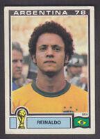 Panini - Argentina 78 World Cup - # 256 Reinaldo - Brasil