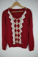 TOMMY HILFIGER Maglione Cardigan Sweater Jumper Pullover Tg M Uomo Man