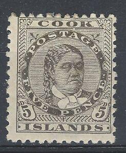 Cook Islands 1893-1900 QV sg9 MM (p.12x11½)