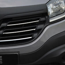 Chrome Front Grille Accent Trim Set Covers 5pcs To Fit Renault Trafic (2014+)