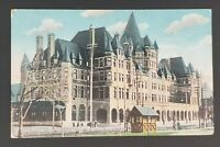1930 Montreal Quebec Canada Place Viger Hotel CPR  Illustrated Postcard Cover
