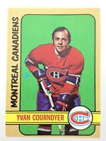 1972-73 Yvan Cournoyer Montreal Canadiens 29 OPC O-Pee-Chee Hockey Card N948