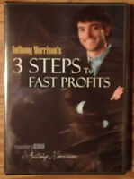 Anthony Morrison's 3 Steps To Fast Profits DVD - New & Sealed