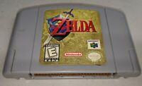 Legend of Zelda: Ocarina of Time (Nintendo 64) N64 - Tested - Cartridge Only