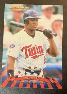 DAVID ORTIZ RC 1998 Donruss #299 Big Papi Rookie Card Twins Red Sox