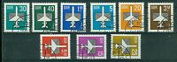 DDR Flugpost alle Werte u.a. 2751/53 , 2831/32 , 2868 , 2967 , 3128 - 3129 , o ,