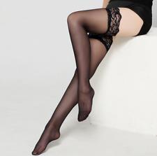 USA Fashion Lady's Lace Top Stay Up Thigh-High Stockings Woman Pantyhose Socks