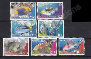 SEYCHELLES MNH STAMP SET 2005 MARINE LIFE PART SET SG 923-934