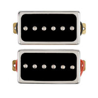 Electric Guitar Single Coil Pickups Bridge Neck Set for Guitar Part Replacement