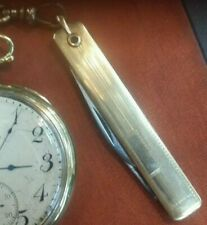 Antique Victorian Beautiful Gold Filled  Pocket Watch Knife / Watch Fob.