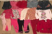 Lot Of 17 pc Girls  Winter Mixed Gymboree Clothes Sizes 18-24 M 2T