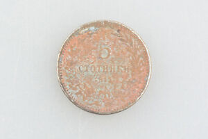 Bulgaria Royalty coin 5 Stotinki 1913