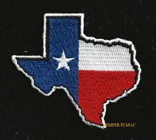 TEXAS STATE OUTLINE HAT PATCH TX ALAMO DALLAS AUSTIN HOUSTON USA PIN UP EL PASO