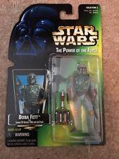 Star Wars POTF Boba Fett green card figure 1995 Kenner