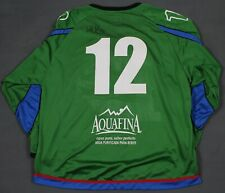 Denver Cutthroats Vtg Defunct CHL Minor League Hockey Jersey XL Autograph