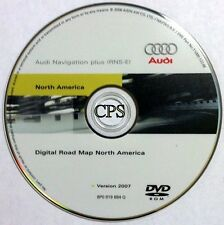 2005 2006 2007 2008 AUDI A3 A4 S4 RS4 QUATTRO AVANT RNS-E NAVIGATION MAP CD DVD