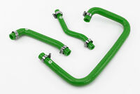 Silicone Crankcase Breather Hoses fits Land Rover Defender 300TDI Vacuum Green