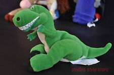 Toy Story REX Bean Bag Toy Plush Doll Disney Pixar Green Dinosaur Smiling