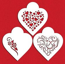 Contemporary Hearts Stencils by Designer Stencils #C351