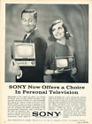 1964 Sony Television Classic Advertisement Ad P82 photo