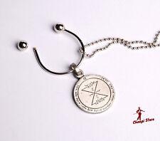 Kabbalah pendant MATCHING. King Solomon's seal. Key holder.gift.Hebrew. coupling