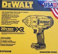 """DEWALT Dcf899b 20V 20 volt  1/2"""" HIGH TORQUE BRUSHLESS IMPACT WRENCH New 2019"""