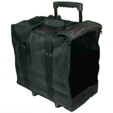 Jewelry Display Black Carrying Case w/ Wheels & Handle