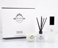 Lonimax Room Spray & Soy Candle & Diffuser Gift Set Coconut & Vanilla