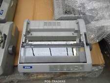 EPSON FX-890 USB Dot Matrix Printer 9-Pin Impact Drucker - MISSING REAR COVER