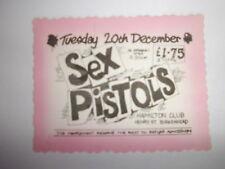 SEX PISTOLS - ORIGINAL 1977 TICKET - LISTING SHOWS HOW TO SPOT A FAKE