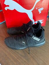 NEW Men's Puma Enzo Beta Woven Athletic Training Running Shoe Black Pick Size