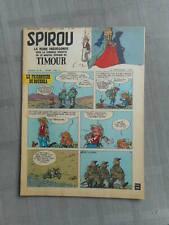 HEBDO LE JOURNAL DE SPIROU N°1064 1958 TBE / EXCELLENT ÉTAT