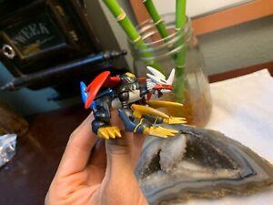 "2000 COMPLETE Digimon Bandai Action Figure ""DRAGON MODE"" Rare IMPERIALDRAMON"